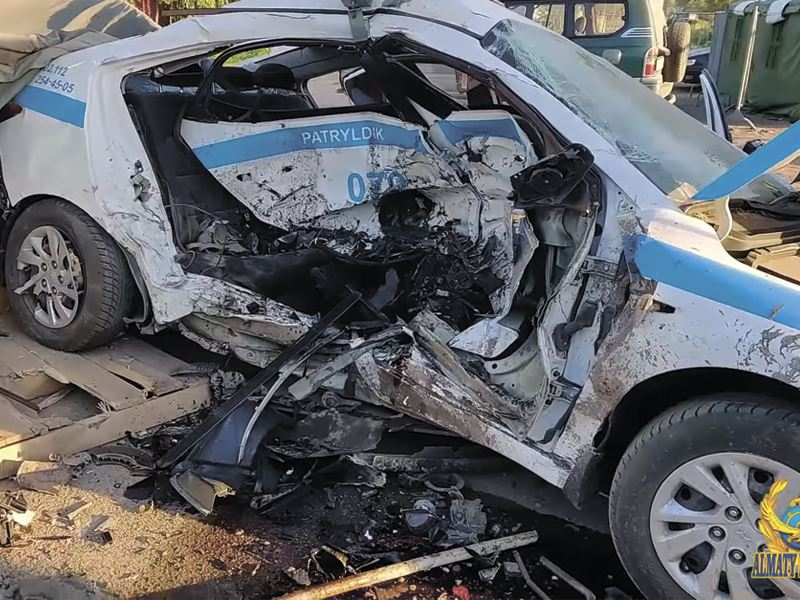 Руководство департамента полиции наказано после резонансного ДТП на блокпосте в Алматы