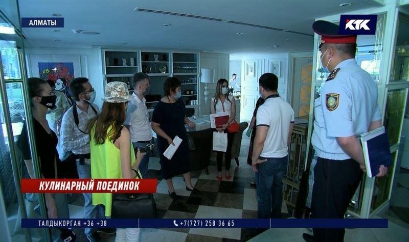 Кафе и рестораны Алматы сдают санитарный экзамен