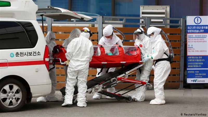 В Южной Корее зафиксирован самый большой рост числа инфицированных COVID-19 с начала апреля