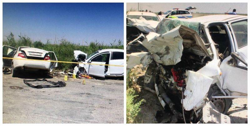 Түркістан облысында жол апатынан төрт адам опат болды