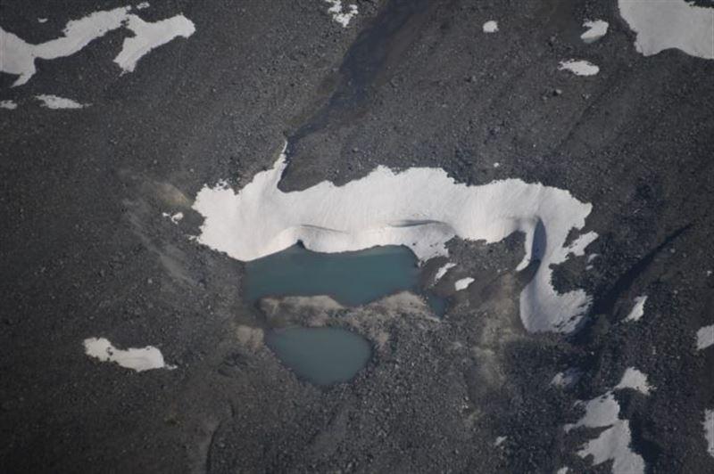 Облет моренных озер проведен в Алматинской области