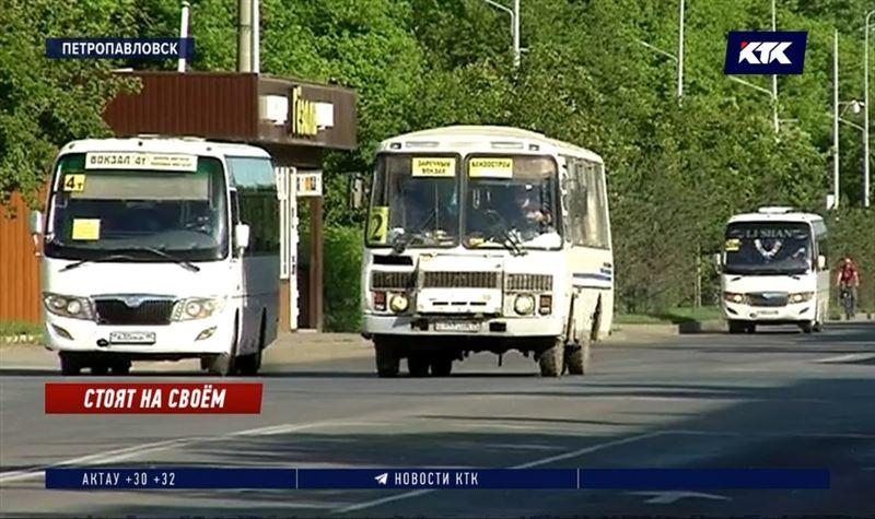 Движение автобусов могут остановить в Петропавловске