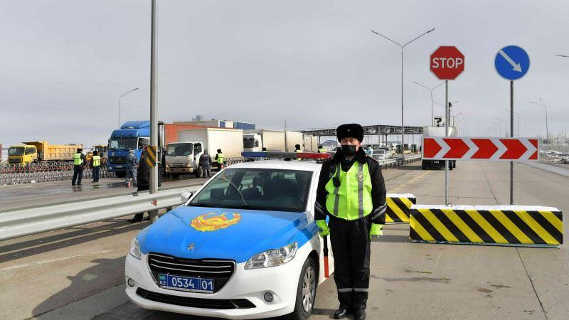 1 июня по периметру Алматы будут сняты блокпосты
