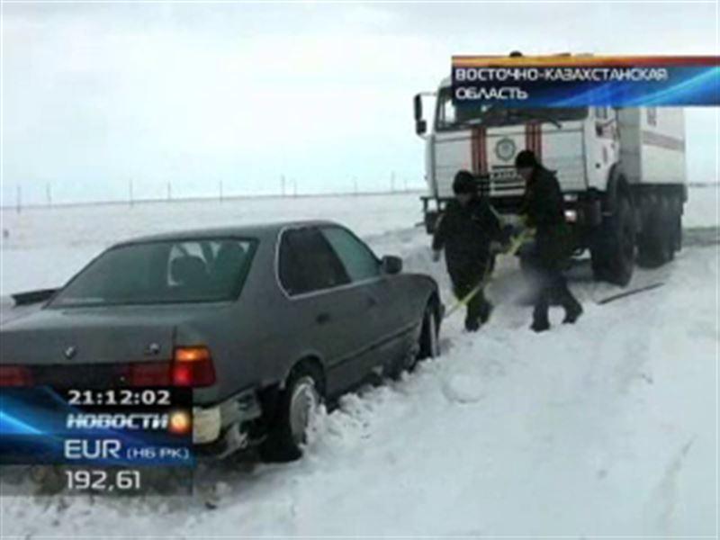 Восточный Казахстан накрыли настоящие бураны