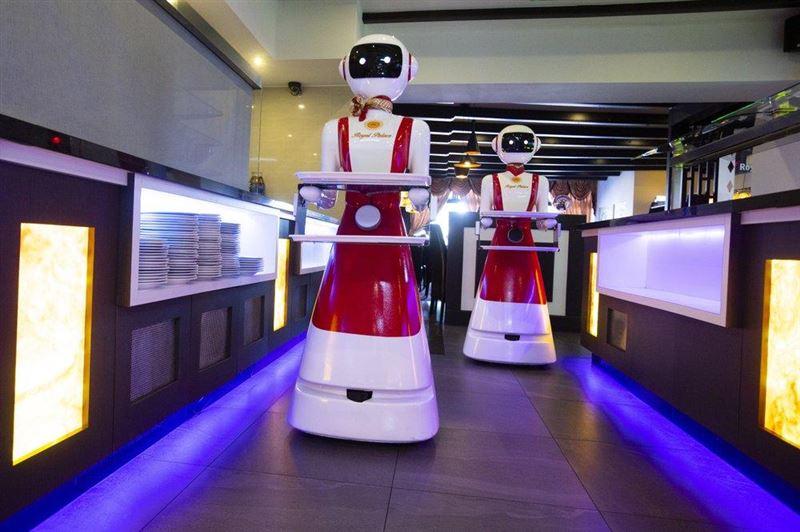 Роботов-официантов используют в ресторане Голландии из-за коронавируса