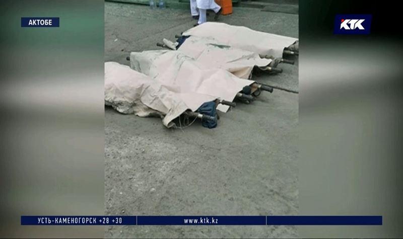 После гибели работников актюбинского завода арестованы трое
