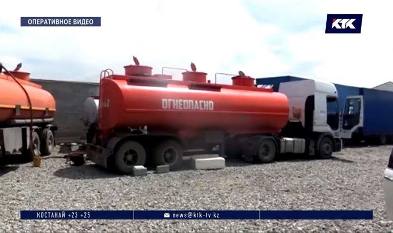 Шымкентский криминальный тандем бодяжил дизельное топливо