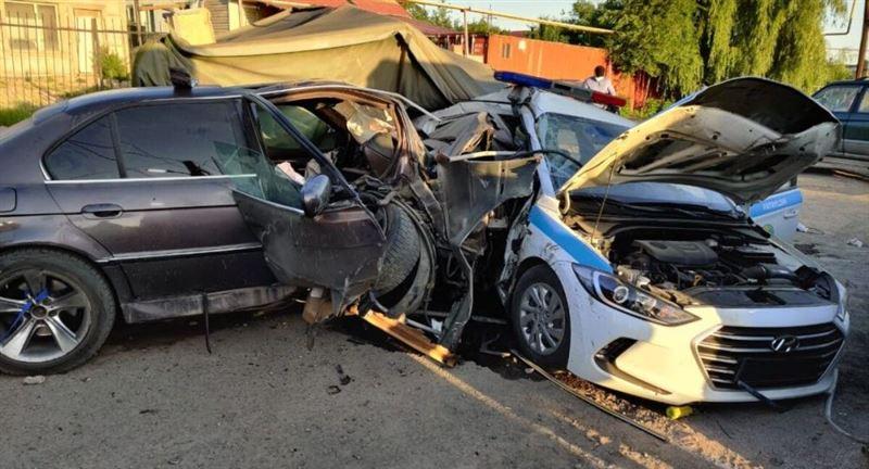 Аварию на блокпосте в Алматы прокомментировал глава полиции города