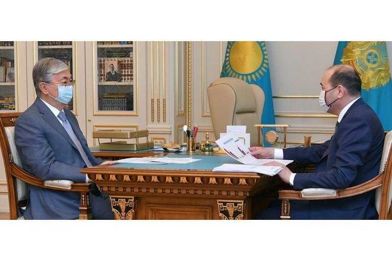 ҚР Президенті Бас прокурор Ғизат Нұрдәулетовті қабылдады