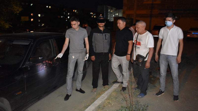 В Жезказгане задержан мужчина, стрелявший в человека
