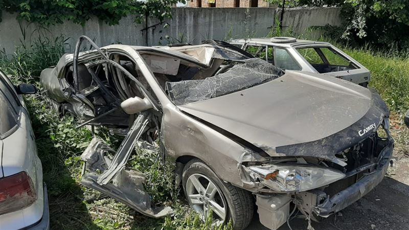Пьяная жительница Узбекистана попала в аварию в Алматинской области