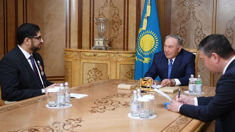 Первый Президент Казахстана принял посла ОАЭ