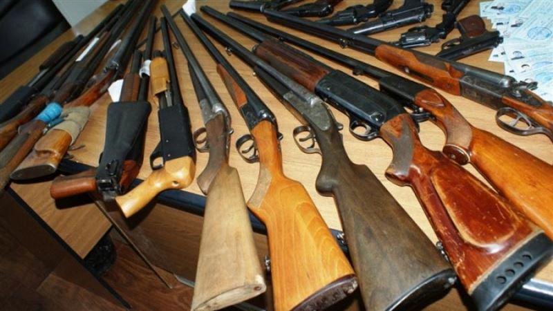Оружие обнаружили у мужчины на блокпосте в Актюбинской области