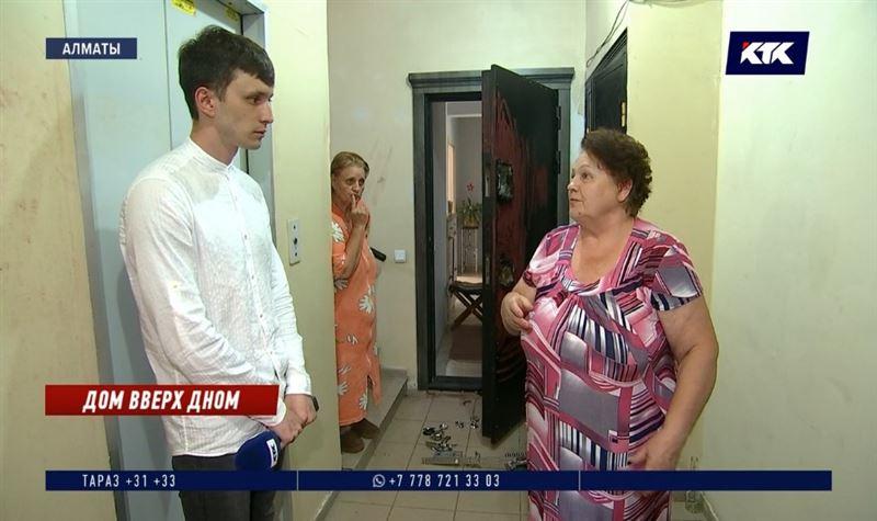 Алматинские домушники вскрыли три квартиры в одном подъезде