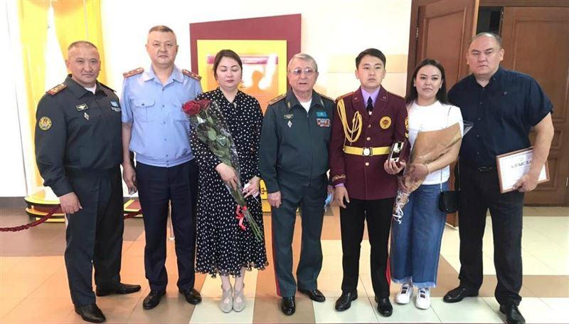 Алматы облысында ерлік көрсеткен 15 жастағы жасөспірім марапатталды
