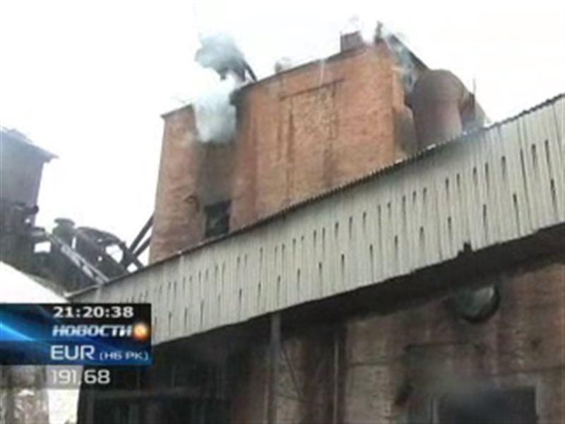 В Усть-Каменогорске сгорели 40 тонн семечек