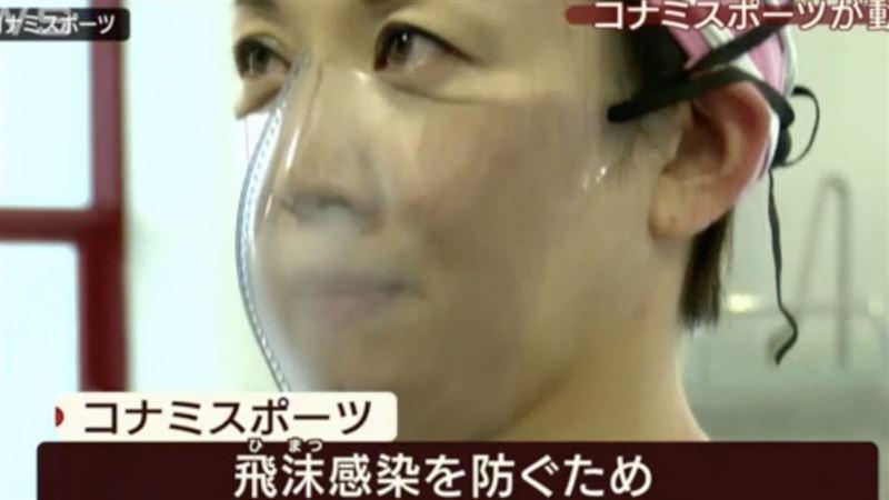 В Японии создали специальные маски для бассейна