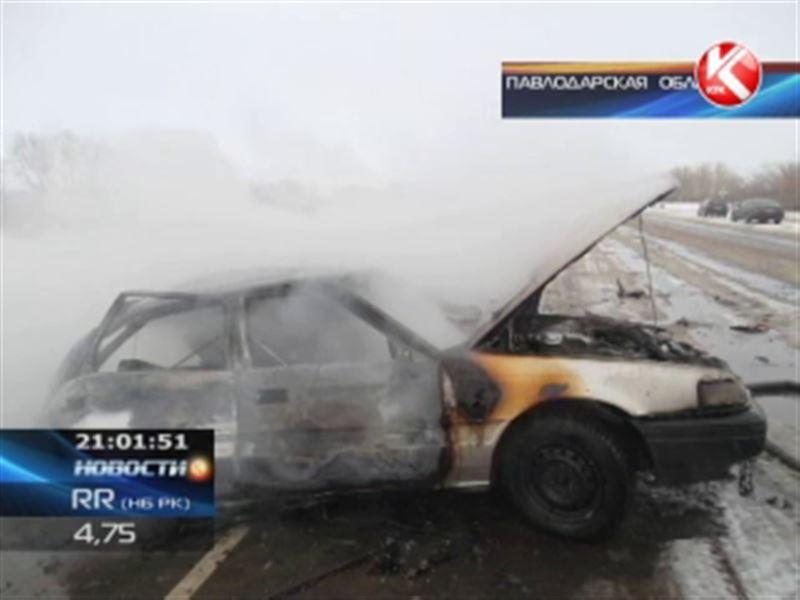 В Казахстане снежные бураны стали причиной ЧП