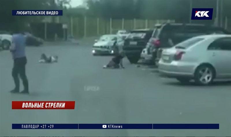 В Караганде двое неизвестных устроили стрельбу на парковке, есть раненые