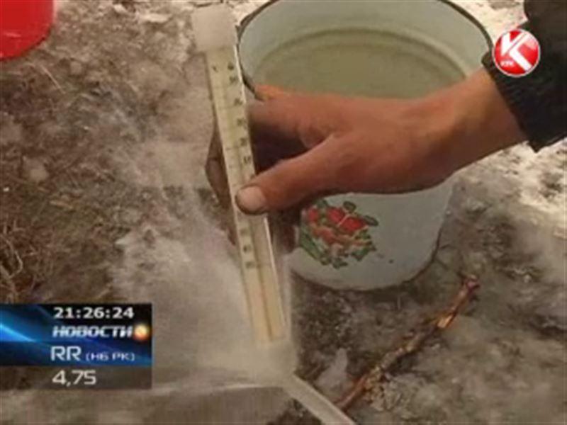 Питьевая скважина на участке жителя ВКО превратилась в горячий источник