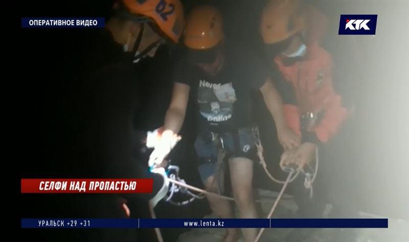 Эффектное селфи могло стоить жизни алматинскому экстремалу