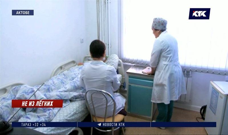Вспышку пневмонии в Актобе мог спровоцировать коронавирус