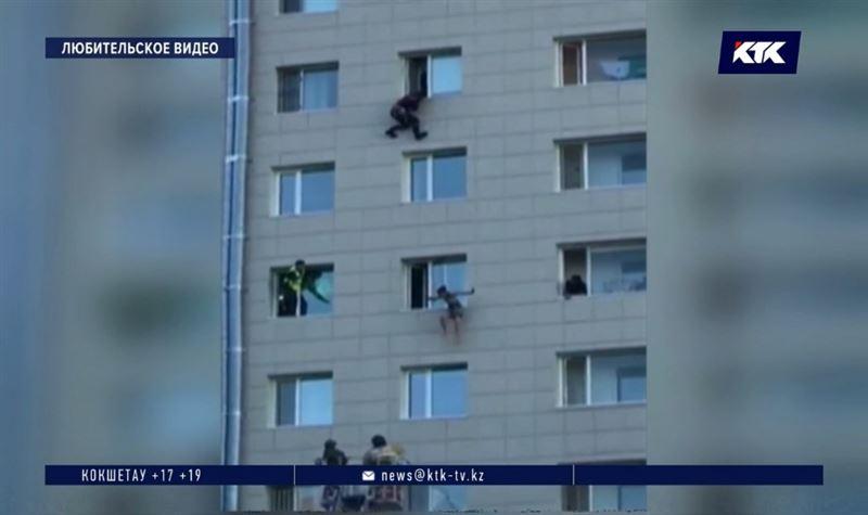 Двойной суицид в столице: мужчина, выпрыгнувший из высотки, скончался