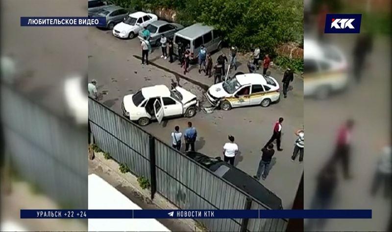 Банда спровоцировала ДТП и ограбила инкассаторов в Караганде