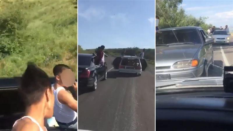 Задержаны водители попавшего на видео «беспредельного» кортежа в Туркестанской области