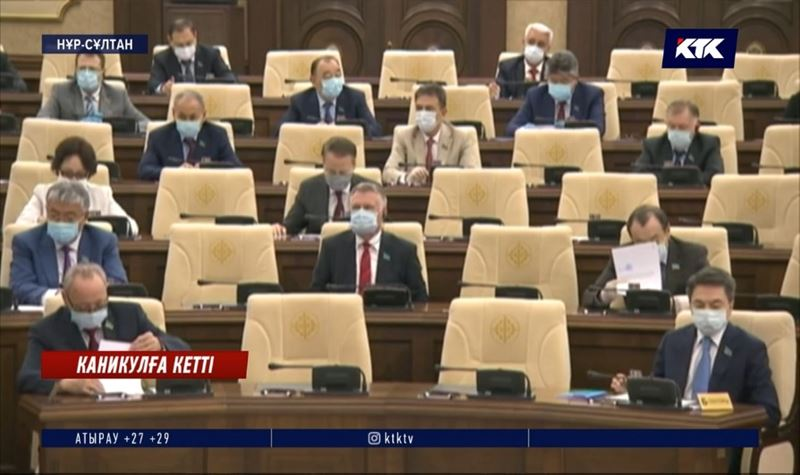 Сенатта жуық арада қарбалас қайта басталады