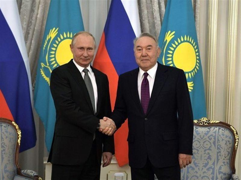 Путин поздравил Назарбаева: «Дорожу и горжусь нашей многолетней дружбой»