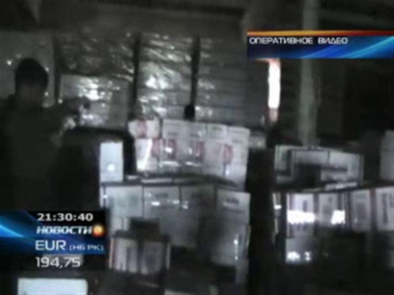 В Петропавловске конфисковали целый вагон водки