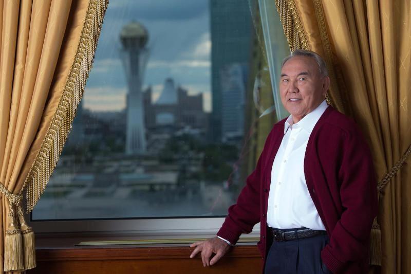 Первый Президент Казахстана Нурсултан Назарбаев отмечает юбилей