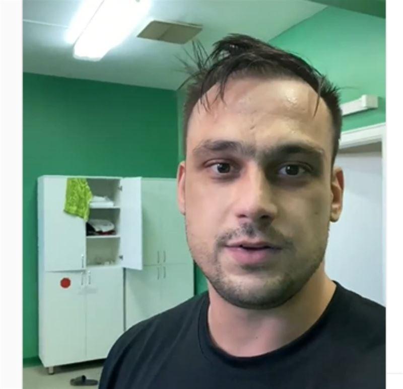 Ауруханаға түсіп қалған Илья Ильин видео жариялады