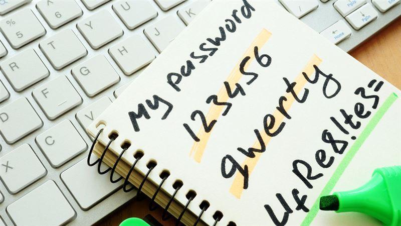 Названы самые легкие для взлома пароли