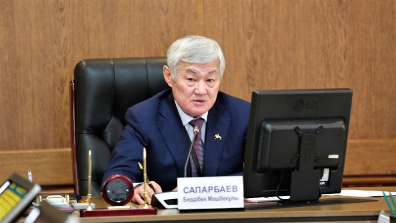 Бердібек Сапарбаев тұрғындарға үндеу жасады