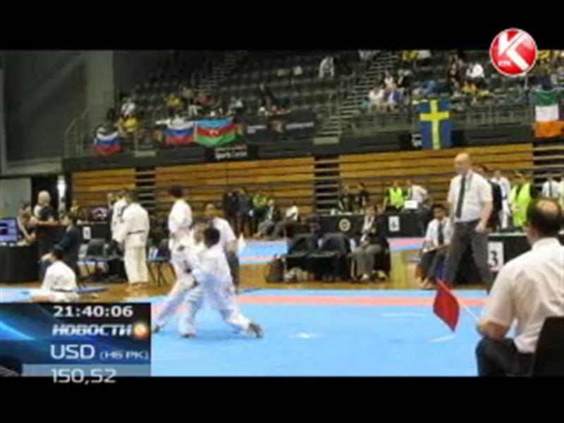 Казахстанские каратисты успешно выступили на чемпионате мира в Сиднее