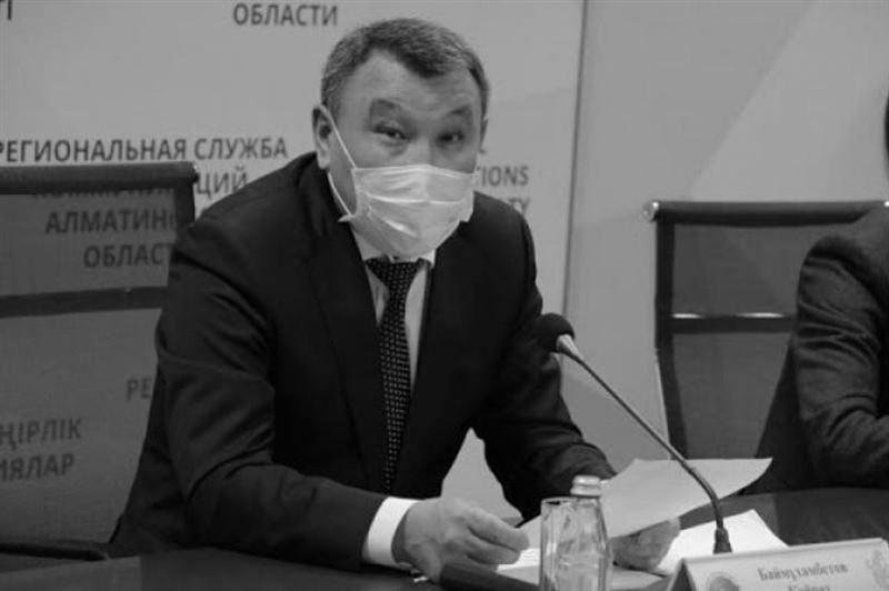 Умер главный государственный санитарный врач Алматинской области Кайрат Баймухамбетов