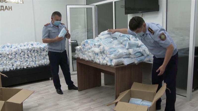 Незаконная продажа лекарств и медицинских масок выявлена в Атырау