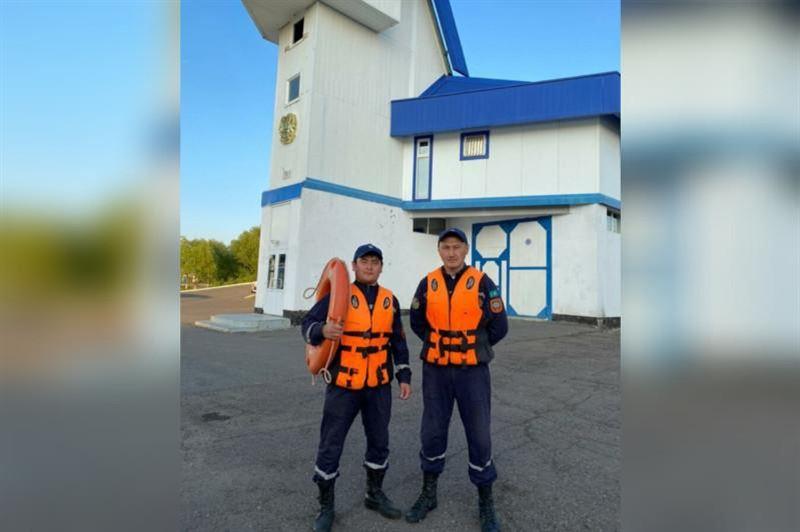 Сотрудники ДЧС Нур-Султана спасли тонувшего ребенка