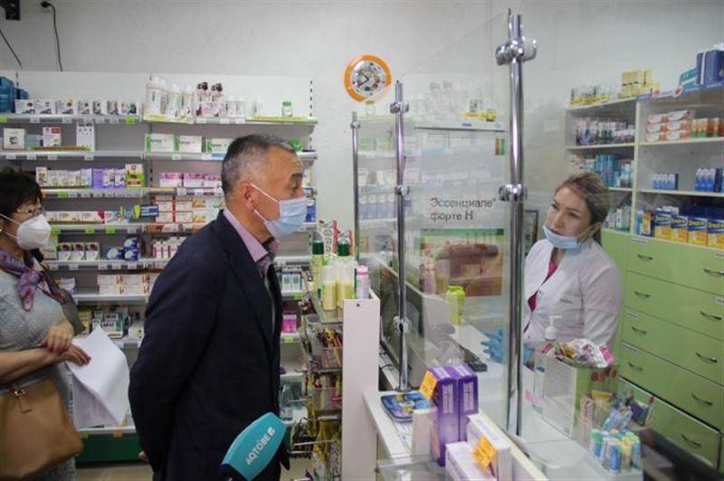Аптеки Актобе проверили на наличие лекарств