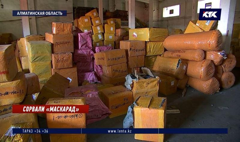 Больше 2500 коробок с защитными масками намеревались продать алматинские спекулянты