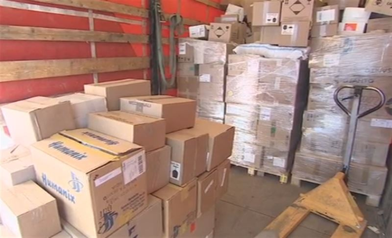Около 17 тонн лекарственных препаратов доставили в Нур-Султан