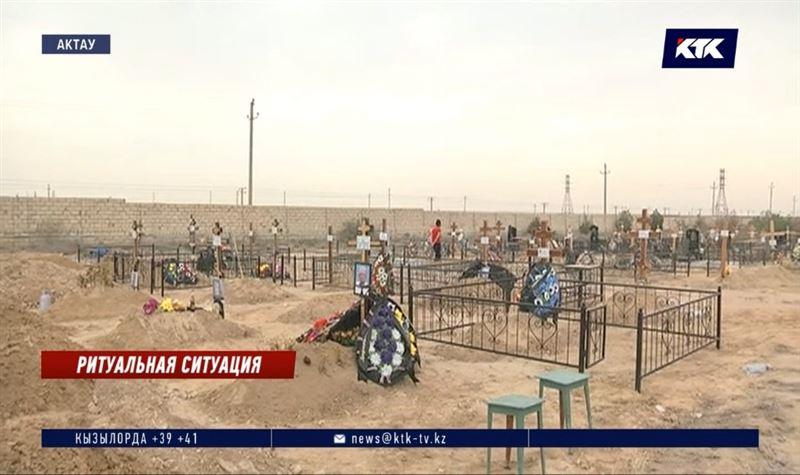 В Актау хоронят до 50 человек в сутки
