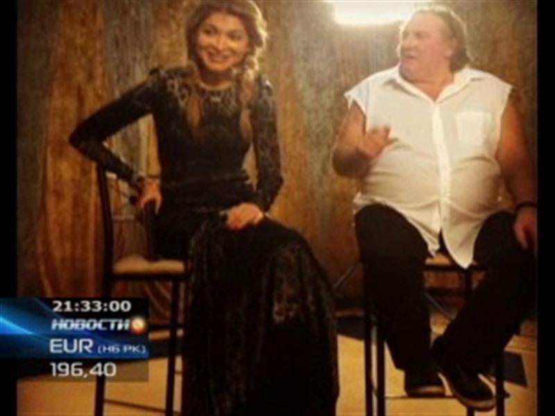Дочь президента Узбекистана спелась с Жераром Депардье