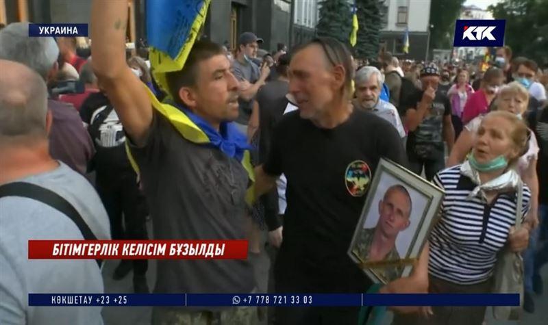 Украинада бітімгерлік келісім тағы бұзылды
