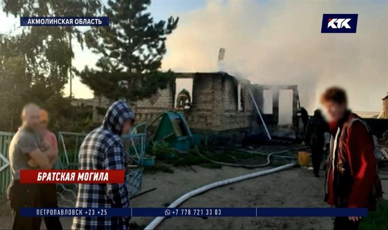Троих детей не удалось спасти во время пожара