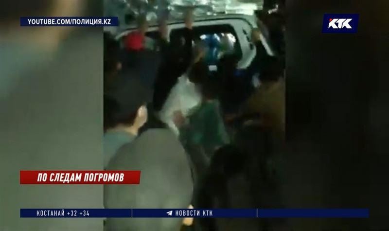 Участники погромов в Сатпаеве задержаны