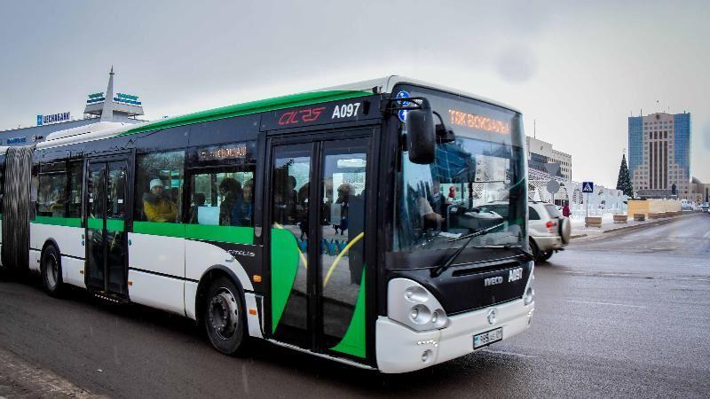 3 тамыздан бастап автобустардың қозғалысы қайта жанданады