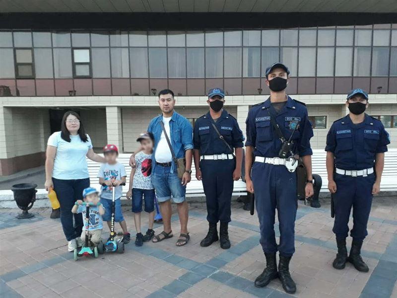 Двух потерявшихся детей нашли военнослужащие Нацгвардии в столице